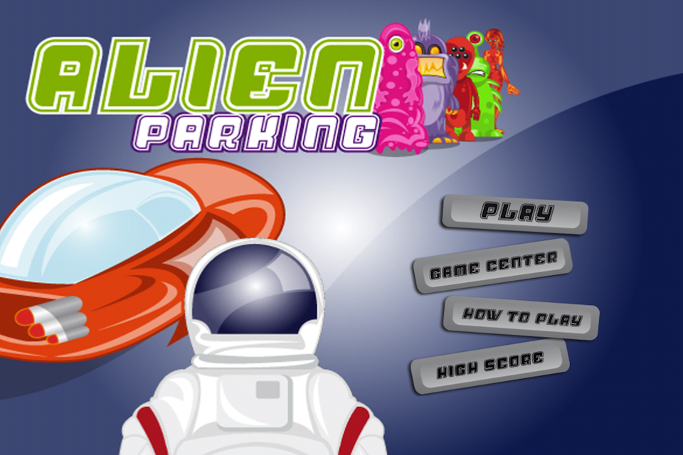 Screenshot Alien Parking Lite