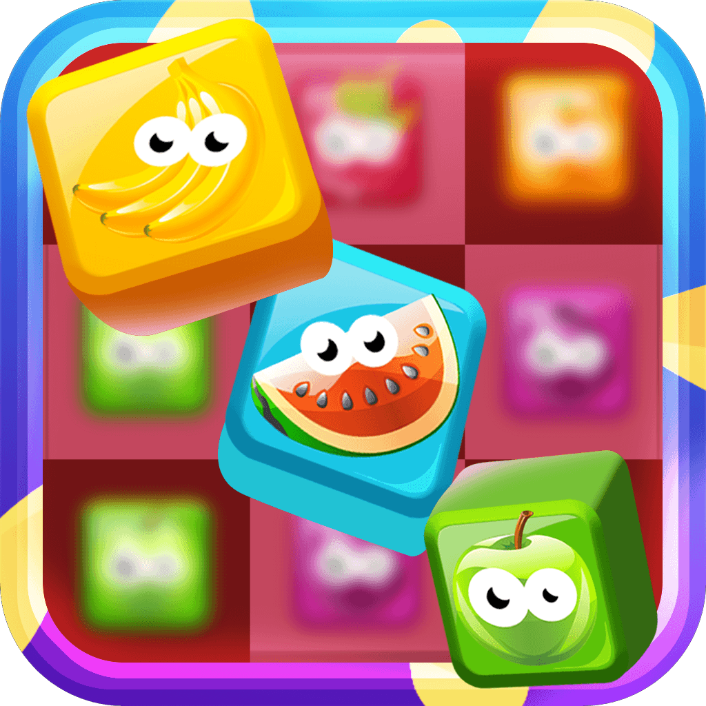 Candy Fruit Party Pop -  Fun Addictive Candies Game For Kids HD FREE
