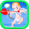 A Cute Baby Angel Puzzle Game Free logo